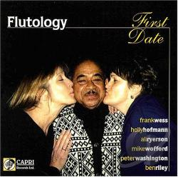 Flutology - First Date CD Cover Art