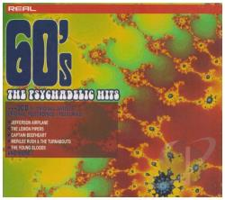 Real 60's: The Psychedelic Hits CD Cover Art