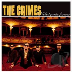 Crimes - Nobody Cries Forever CD Cover Art