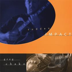 Chako, Greg - Sudden Impact CD Cover Art