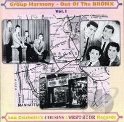 Out of the Bronx, Vol. 1: Doo - Wop Cousins & West Side CD Cover Art