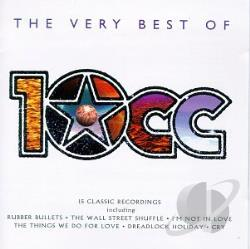 10cc - Very Best of 10cc CD Cover Art