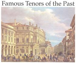 Famous Tenors Of The Past - Famous Tenors of the Past CD Cover Art