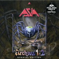 Asia - Archiva, Vol. 1/Archiva, Vol. 2 CD Cover Art