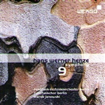 Brso / Henze / Janowski - Hans Werner Henze: Symphony No. 9 CD Cover Art