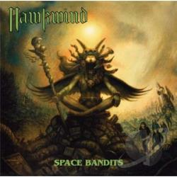 Hawkwind - Space Bandits CD Cover Art