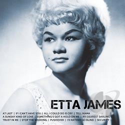 James, Etta - Icon CD Cover Art