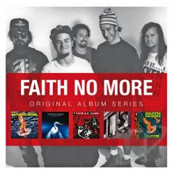 Faith No More - Original Album Series (The Real Thing/Angel Dust/King For A Day Fool For A Lifetime/Album Of The Year/Live At The Brixton Academy) CD Cover Art