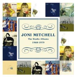 Mitchell, Joni - Studio Albums 1968-1979 CD Cover Art