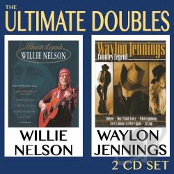 Jennings, Waylon / Nelson, Willie - Ultimate Doubles CD Cover Art