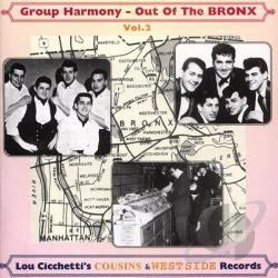 Out of the Bronx, Vol. 2: Doo - Wop Cousins & West Side CD Cover Art
