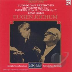 Symphonieorchester D - Beethoven: Klavierkonzert No. 4; Pathetique Op. 13; Fantasie Op. 77 CD Cover Art