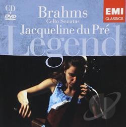 Barenboim / Brahms / Du Pre / Ipo - Brahms: Cello Sonatas CD Cover Art