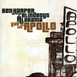 Harper, Ben - Live at the Apollo CD Cover Art