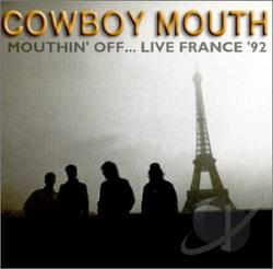 Cowboy Mouth - Mouthin' Off Live CD Cover Art