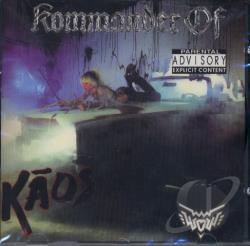 Williams, Wendy O. - Kommander of Kaos CD Cover Art