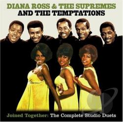 Supremes - Diana Ross & The Supremes Join The Temptations (1968)/Together (1969). CD Cover Art