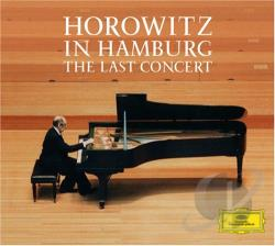 Horowitz, Vladimir - Horowitz In Hamburg: The Last Concert CD Cover Art