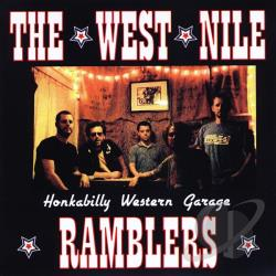 West Nile Ramblers - Honkabilly Western Garage CD Cover Art