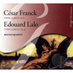 Franck, C. - Quatuor A Cordes CD Cover Art