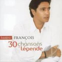 Francois, Frederic - 30 Chansons De Legende CD Cover Art