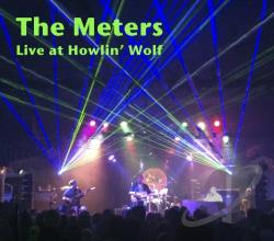 Meters - Live at Howlin' Wolf 2012 CD Cover Art