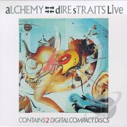 Dire Straits - Alchemy: Dire Straits Live CD Cover Art
