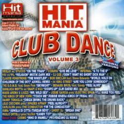 Hit Mania Club Dance - Vol. 3 - Hit Mania Club Da CD Cover Art