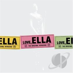 Fitzgerald, Ella - Love, Ella CD Cover Art