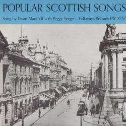 MacColl, Ewan / Seeger, Peggy - Popular Scottish Songs CD Cover Art
