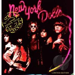New York Dolls - Live In Paris LP Cover Art