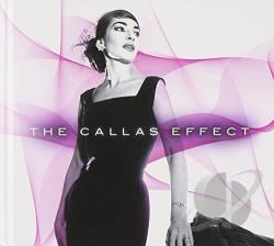 Callas, Maria - Callas Effect CD Cover Art