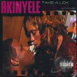 Akinyele - Take A Lick CD Cover Art