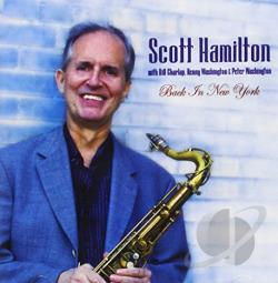 Scott Hamilton Quartet - Back in New York CD Cover Art