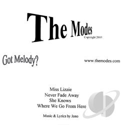 Modes - Modes CD Cover Art