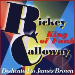 Rickey Calloway - King Of Funk CD Cover Art