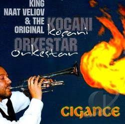 King Naat Veliov & The Original - Gigance CD Cover Art