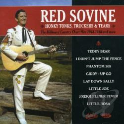 Sovine, Red - Honky Tonks Truckers and Tears: 1964-1980 CD Cover Art