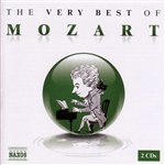 Mozart - Very Best of Mozart CD Cover Art