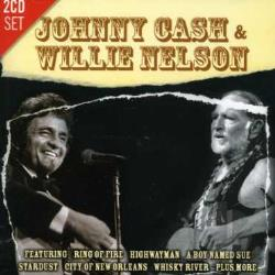 Cash, Johnny / Nelson, Willie - Cash & Nelson CD Cover Art
