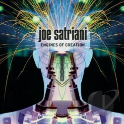 Satriani, Joe - Engines Of Creation CD Cover Art