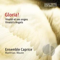 Ensemble Caprice / Maute / Vivaldi - Gloria! Vivaldi's Angels CD Cover Art