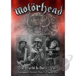 Motorhead - World Is Ours, Vol. 1: Everywhere Further Than Everyplace Else CD Cover Art