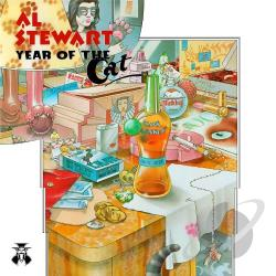 Stewart, Al - Year of the Cat LP Cover Art
