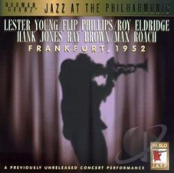 JAZZ AT THE PHILHARMONIC - Frankfurt, 1952 CD Cover Art