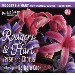 Karaoke - Karaoke: Barbara Cook and Rodgers and Hart CD Cover Art