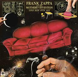 Mothers Of Invention / Zappa, Frank - One Size Fits All CD Cover Art