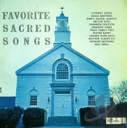 Favorite Sacred Songs CD Cover Art