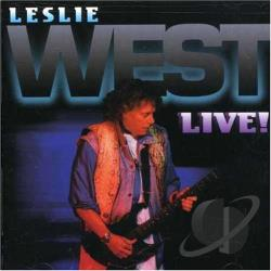 West, Leslie - Live CD Cover Art