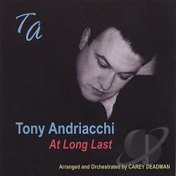 Andriacchi, Tony - At Long Last CD Cover Art